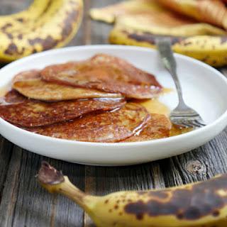 Gluten-free Banana Malpua (Cardamom Banana Pancake)