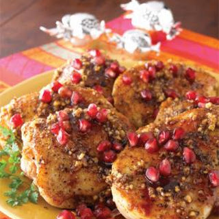 Chicken Fesenjan with Walnuts and Pomegranate Syrup Recipe