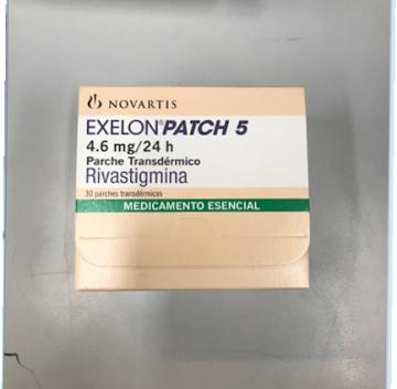 EXELON PATCH5 4.6MG/24