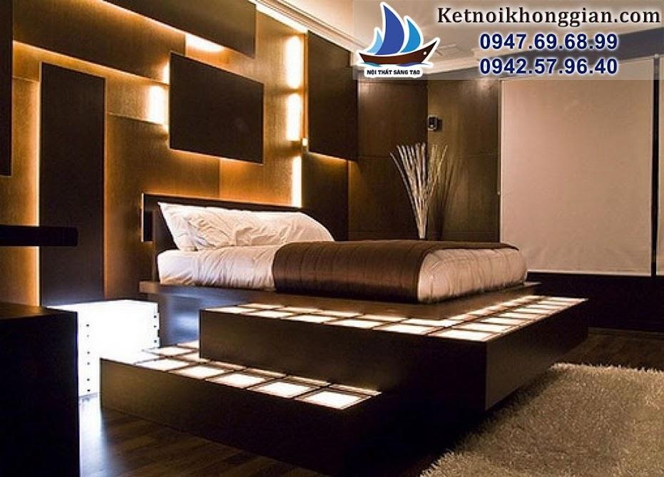 thiết kế phòng ngủ hợp phong thủy ít đồ điện tử
