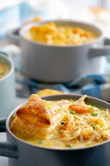 Instant Pot Chicken Pot Pie Soup