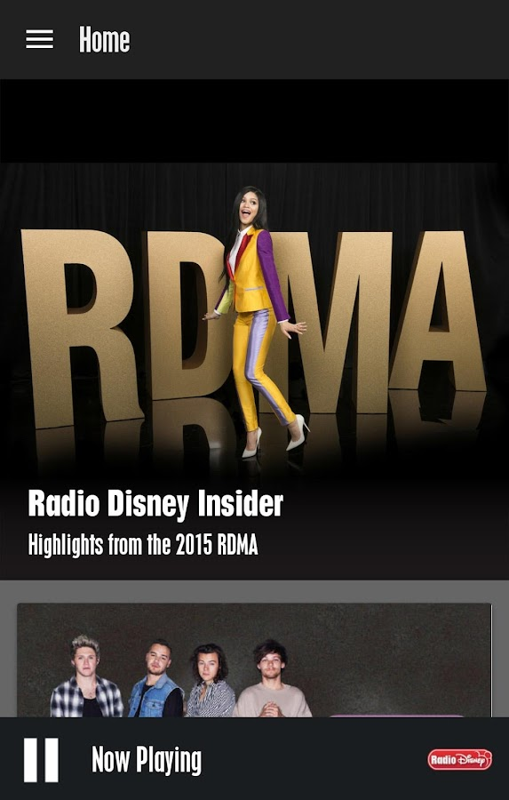 Radio Disney- screenshot