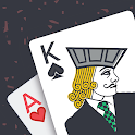 Blackjack & Card Counting Trainer Pro icon