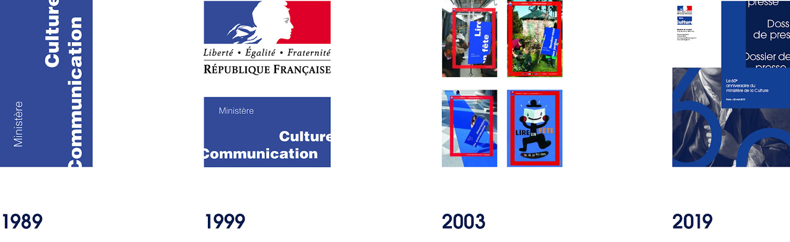 Visual identity for French Ministry of Culture