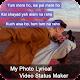 My Photo Lyrical Video Status Maker Download on Windows