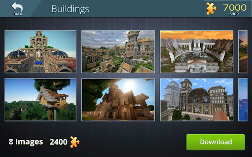 Minecraft Jigsaw Puzzles - náhled