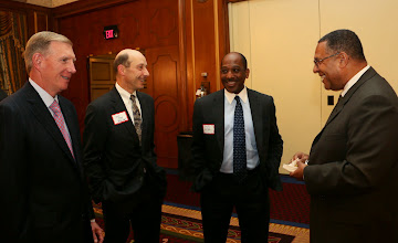 Photo: BBA President Paul Dacier, BBA/BBF Executive Director Richard Page, Steven Wright (Holland & Knight), and Chief Justice Ireland.