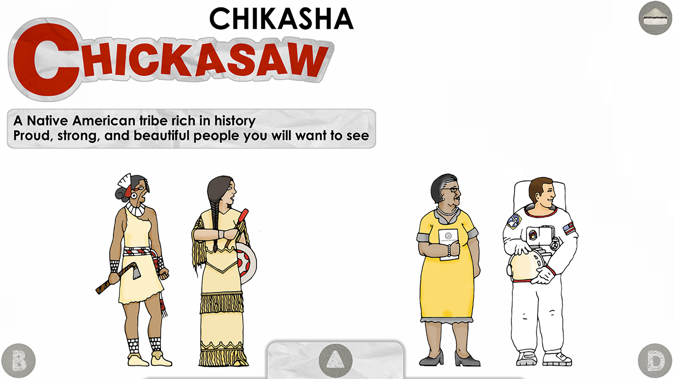 C is for Chickasaw- screenshot