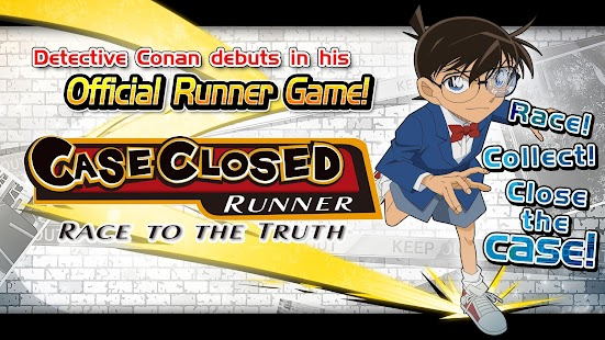 Case Closed Runner: Race to the Truth Screenshot