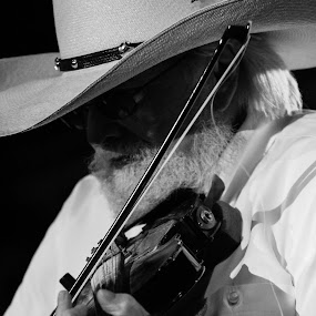 Charlie Daniels by Mitch Lassiter - People Musicians & Entertainers ( charlie daniels, charlie daniels band, country music, live music, fiddle )