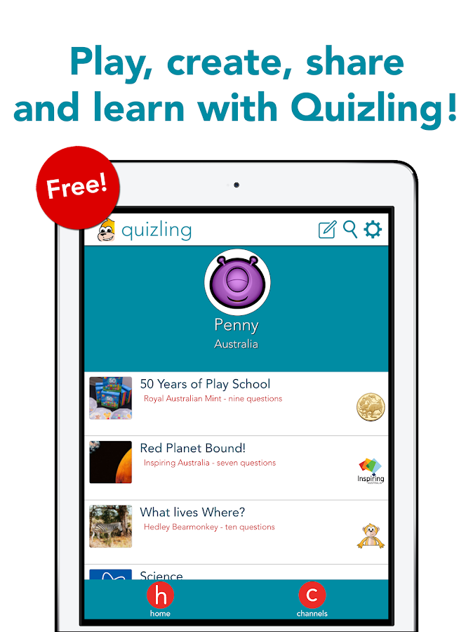 Quizling–The Knowledge Game!- screenshot