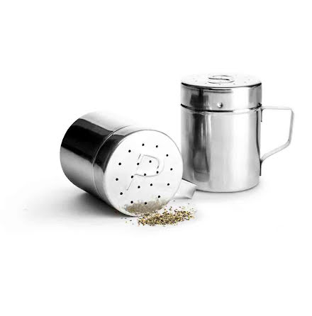 BBQ Salt & Peppar set med lock