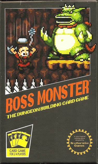 Box art for Boss Monster ( source: Published by BrotherWise Games )