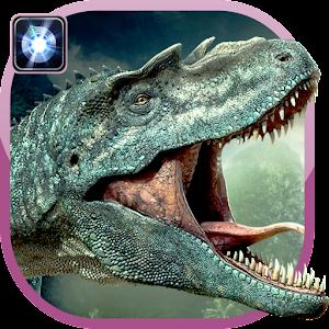 Динозавр фонарик