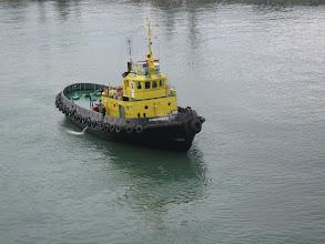 Photo: Знакомтесь: это Толкач. Без него наш огромный паром не рискует войти в порт