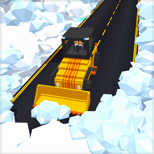 Clouds Road Builder : Roadworks Building Games