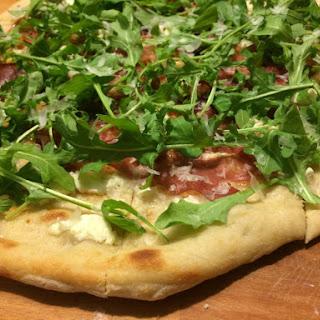 Fig-Prosciutto-Arugula Pizza