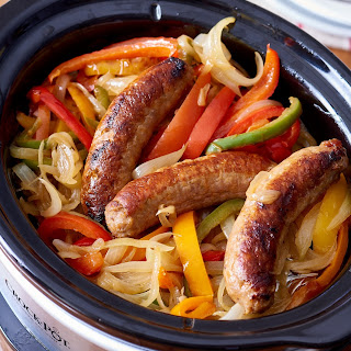 Slow Cooker With Bratwurst Sausage Recipes.