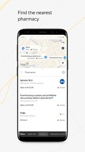 Yandex.Maps and Transport screenshot 3