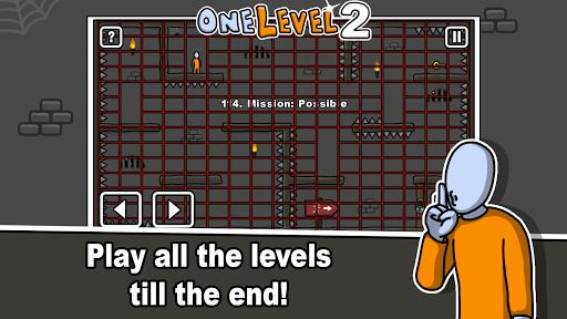 One Level 2: Stickman Jailbreak 1.7.6 screenshots 14