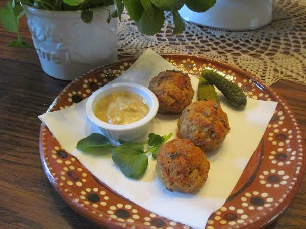 Perfect Snack Food Along With Dill Pickles And Mayonnaise/mustard Dip.