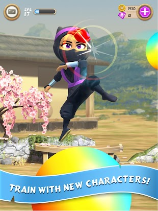 Clumsy Ninja- screenshot