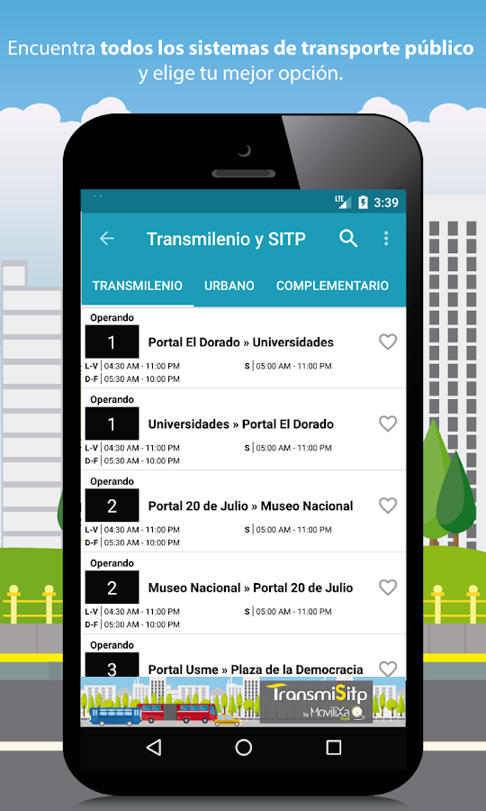 Transmilenio y Sitp- screenshot