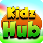 Kidz Hub: All-in-One Learning Game for Kids Icon