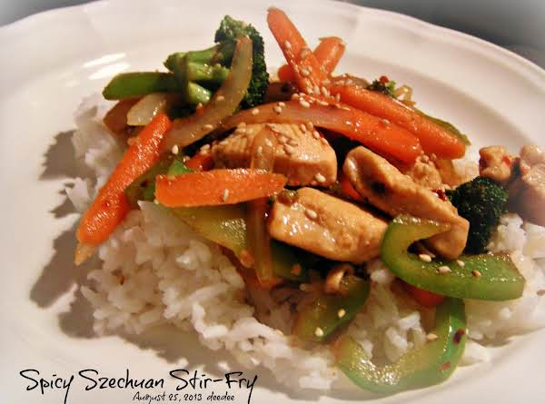 Spicy Szechaun Stir-fry Recipe