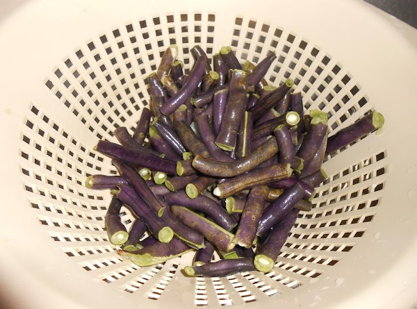 Wash beans thoroughly and drain. Place in a large saucepan with enough water to...