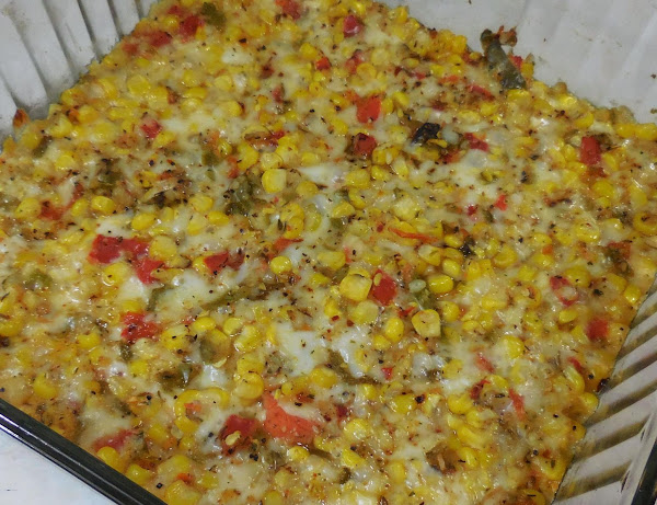 Cheesy Southern Corn Casserole Recipe