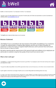 b well - Belfast Trust screenshot 2