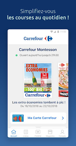 Carrefour Android App Screenshot