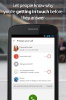 Screenshot of Vodafone Call+ & Message+