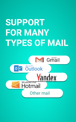 easymail - easy & fast email screenshot 1