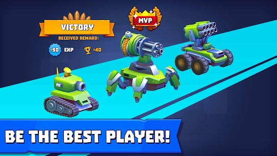 Tanks A Lot Mod Apk 2.91 (Menu Mod + Unlimited Ammo) 5