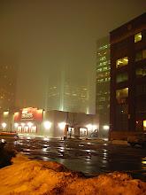 Photo: Fog during a thaw