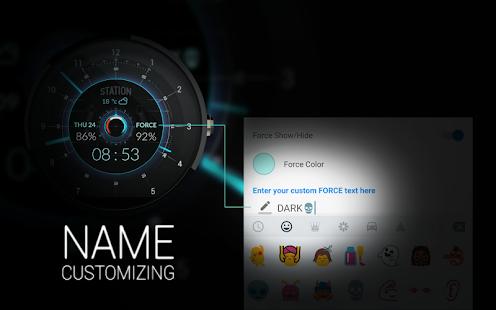 STATION - Watch face Screenshot 6