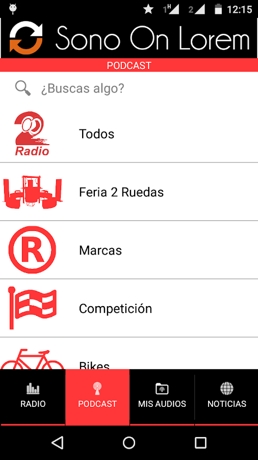 2 Ruedas Radio- screenshot