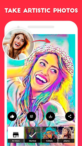 ArtistA Cartoon & Sketch Filter & Artistic Effects 2.1.5 screenshots 1