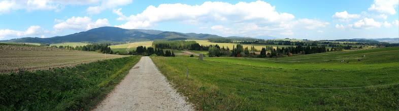 Photo: Słowacka część to w większości jazda takimi właśnie szutrówkami.