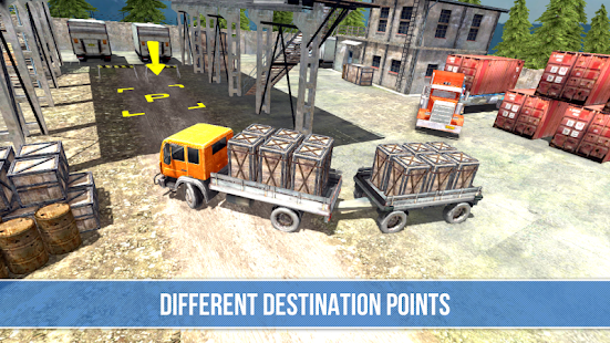 Trucker: Mountain Delivery Screenshot