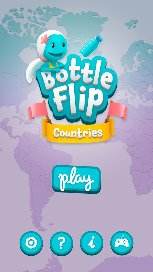 Bottle Flip Countries- screenshot