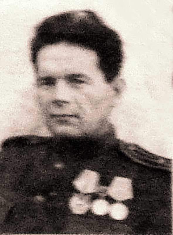 Ижак А.С. – комиссар штаба 35 осбр