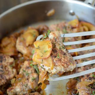 Spiced Pork Tenderloin with Sautéed Apples