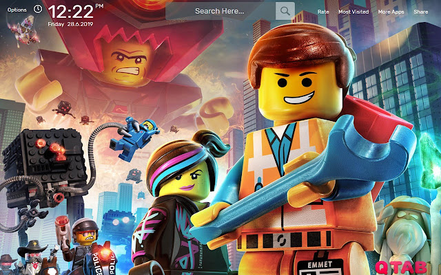Lego Wallpapers New Tab Theme