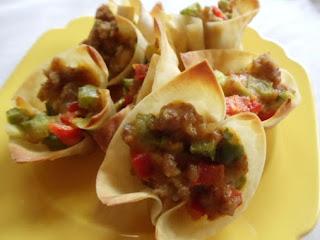 Sausage Wonton Stars Recipe