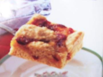 Cranberry-orange Bars Recipe