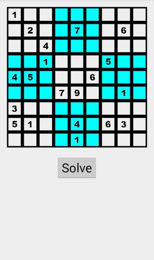 Solve my Sudoku