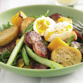 Chorizo and Soft-Boiled Egg Salad